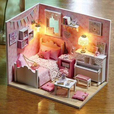 Mini Dollhouse - Roombox - Sunshine Princess