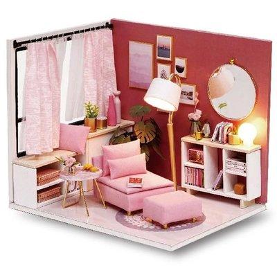 Mini Dollhouse - Roombox - Happy Time