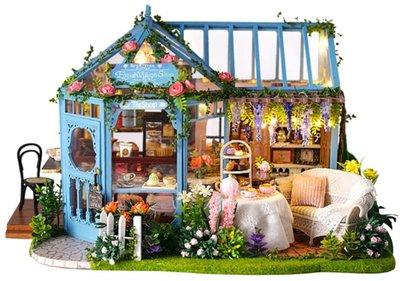 Mini Dollhouse - Shop - Rose Garden Tea House