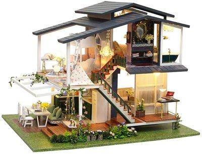 Mini Dollhouse - Villa - Monet Garden