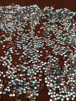 Hotfix steentjes Budget kwaliteit SS 10 Kleur Aquamarine