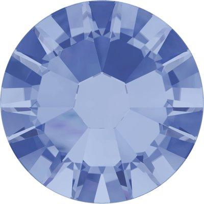 Swarovski non-hotfix steentjes kleur Light Sapphire (211) SS10