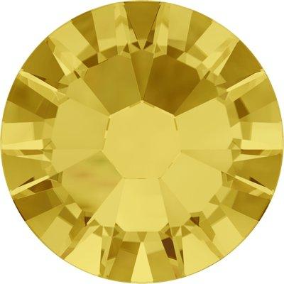 Swarovski non-hotfix steentjes kleur Light Topaz (226) SS5