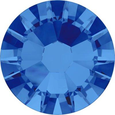 Swarovski non-hotfix steentjes kleur Sapphire (206) SS10