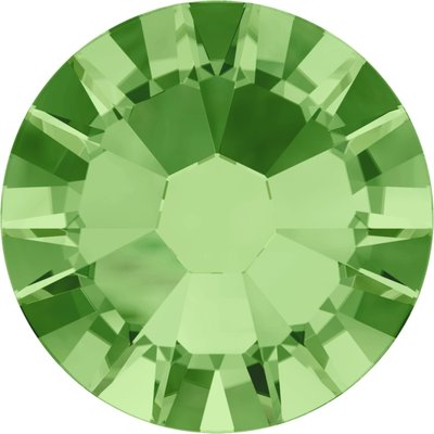 Swarovski non-hotfix steentjes kleur Peridot (214) SS5
