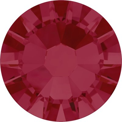 Swarovski non-hotfix steentjes kleur Ruby (501) SS5