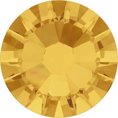 Swarovski non-hotfix steentjes kleur Sunflower (292) SS5