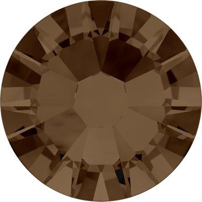 Swarovski non-hotfix steentjes kleur Smoked Topaz (220) SS5
