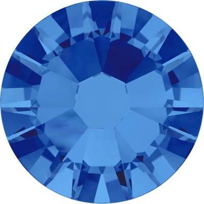 Swarovski non-hotfix steentjes kleur Sapphire (206) SS5