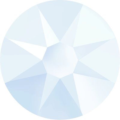 Swarovski non-hotfix steentjes kleur Crystal Powder Blue (001L104) SS12