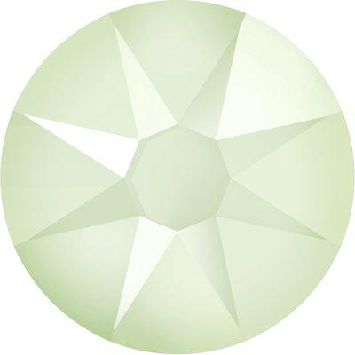 Swarovski non-hotfix steentjes kleur Crystal Powder Green (001L102) SS12