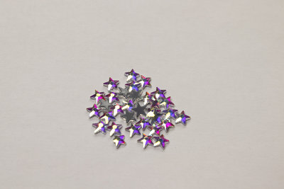 Sterretje 6 mm Crystal AB Hotfix Rhinestones Superior kwaliteit