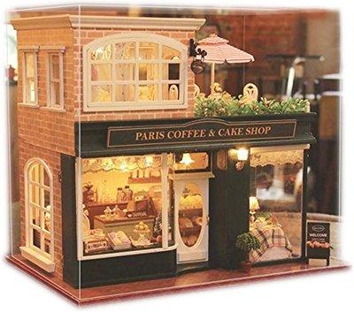 Mini Dollhouse - Paris Coffee and Cake Shop