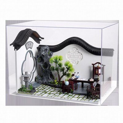 Mini Dollhouse - Cute Room - Chinese Courtyard / binnenplaats (Deel A)