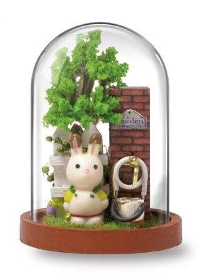 Mini Dollhouse - Mini Stolpje - Garden Corner