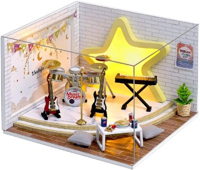 Mini Dollhouse - Roombox- Dream Catcher (1:32)