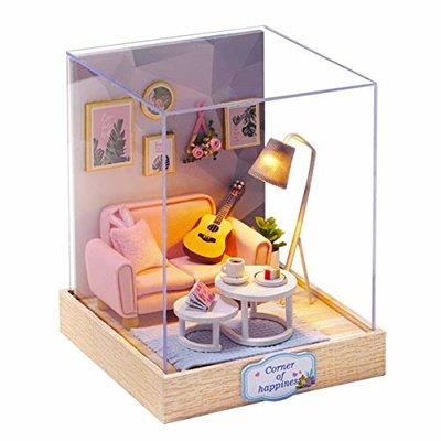 Mini Dollhouse - Roombox- Afternoon Teatime