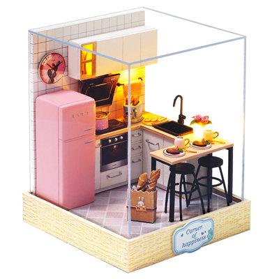 Mini Dollhouse - Roombox- Taste of Life