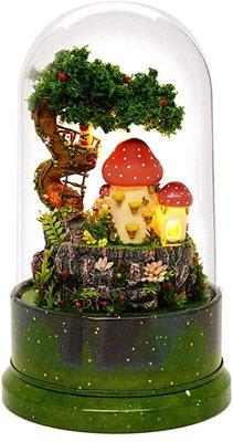 Mini Dollhouse - Draaiende muziekdoos - The Garden Diary