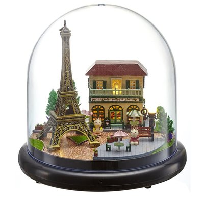Mini Dollhouse - Together Around Globe - Romantic Paris