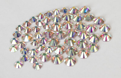 Crystal AB SS 3 Superior Glamour kwaliteit non-hotfix plakstenen