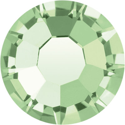 Preciosa Rivets silver - Chrysolite 50000 (SS18)