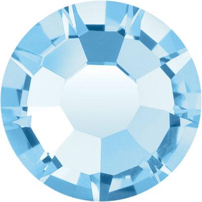 Preciosa Rivets silver - Aquamarine 60000 (SS18)