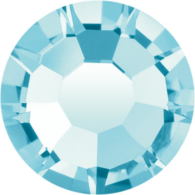 Preciosa Rivets silver - Aqua Bohemica 60010 (SS29 - SS34)