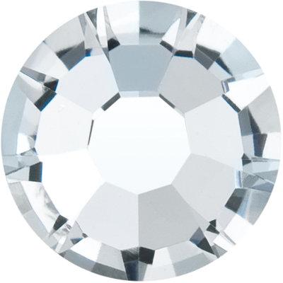 Preciosa Rivets silver - Crystal 00030 (SS18)