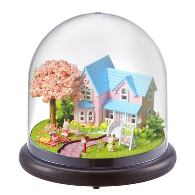 Mini Dollhouse - Together Around Globe - Cherry Conventions