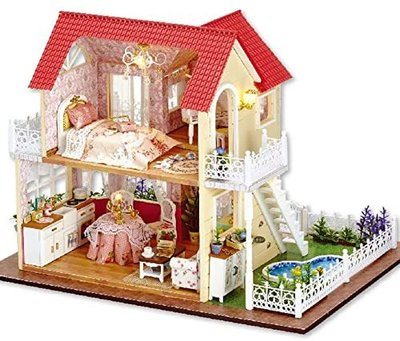 Mini Dollhouse - Villa - Princess Cottage