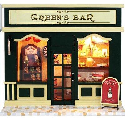 Mini Dollhouse - Green's Bar
