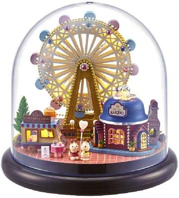 Mini Dollhouse - Together Around Globe - Happiness Ferris Wheel