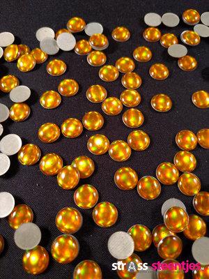 Hotfix Epoxy 8 mm Kleur Egaal Geel