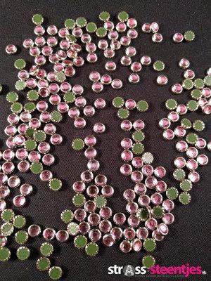 Hotfix Trim SS 16 Kleur Zilver-Rose