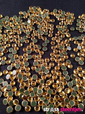 Hotfix Trim SS 16 Kleur Goud-Goud