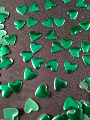 Hotfix Nailheads Kleur Groen hart