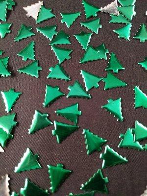 Hotfix Nailheads Kleur Groen kerstboom