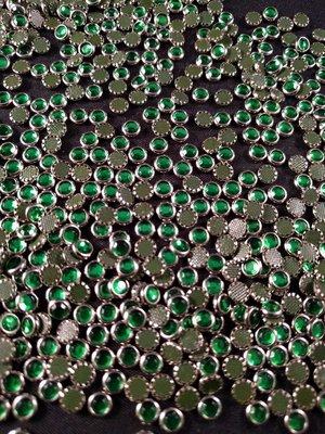 Hotfix Trim SS 16 Kleur Zilver-Groen