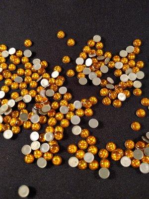Hotfix Epoxy 4 mm Kleur Egaal Geel