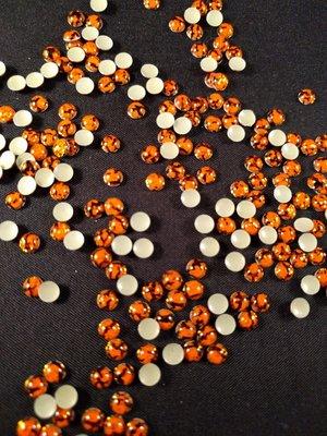 Hotfix Epoxy 4 mm Kleur Tijger Oranje