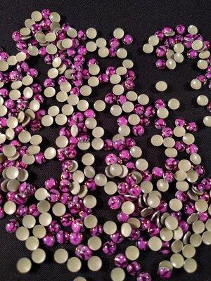 Hotfix Epoxy 4 mm Kleur Tijger Paars