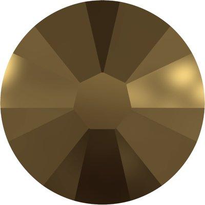Swarovski hotfix steentjes kleur Crystal Dorado (001DOR) SS12