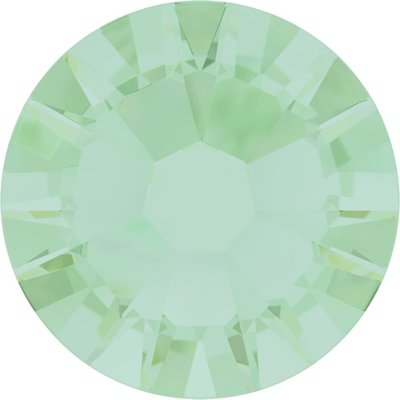 Swarovski hotfix steentjes kleur Chrysolite Opal (294) SS16