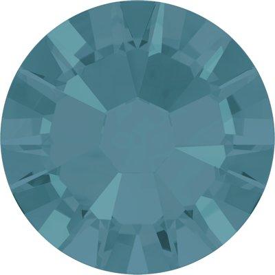 Swarovski hotfix steentjes kleur Caribean Blue Opal (394) SS16