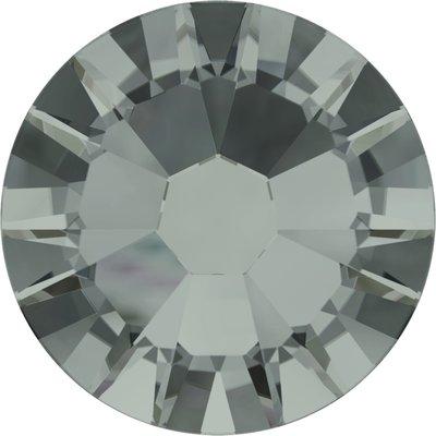 Swarovski hotfix steentjes kleur Black Diamond AB (215 AB) SS16