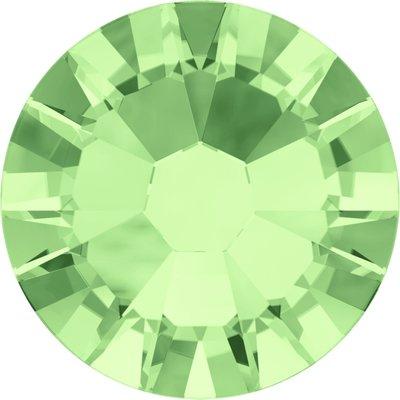Swarovski hotfix steentjes kleur Chrysolite (238) SS34