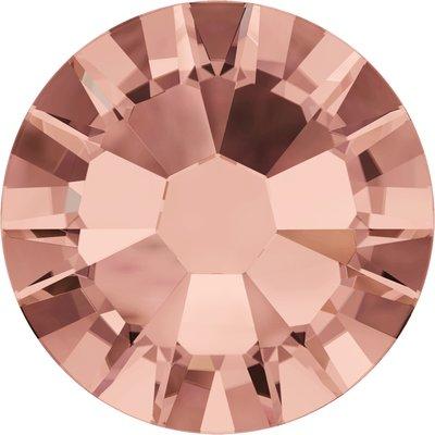 Swarovski non-hotfix steentjes kleur Blush Rose (257) SS30