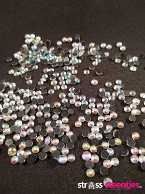 Crystal AB SS 16 Premium DMC kwaliteit Hotfix steentjes