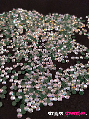 Hotfix steentjes Budget kwaliteit SS 10 Kleur Crystal AB